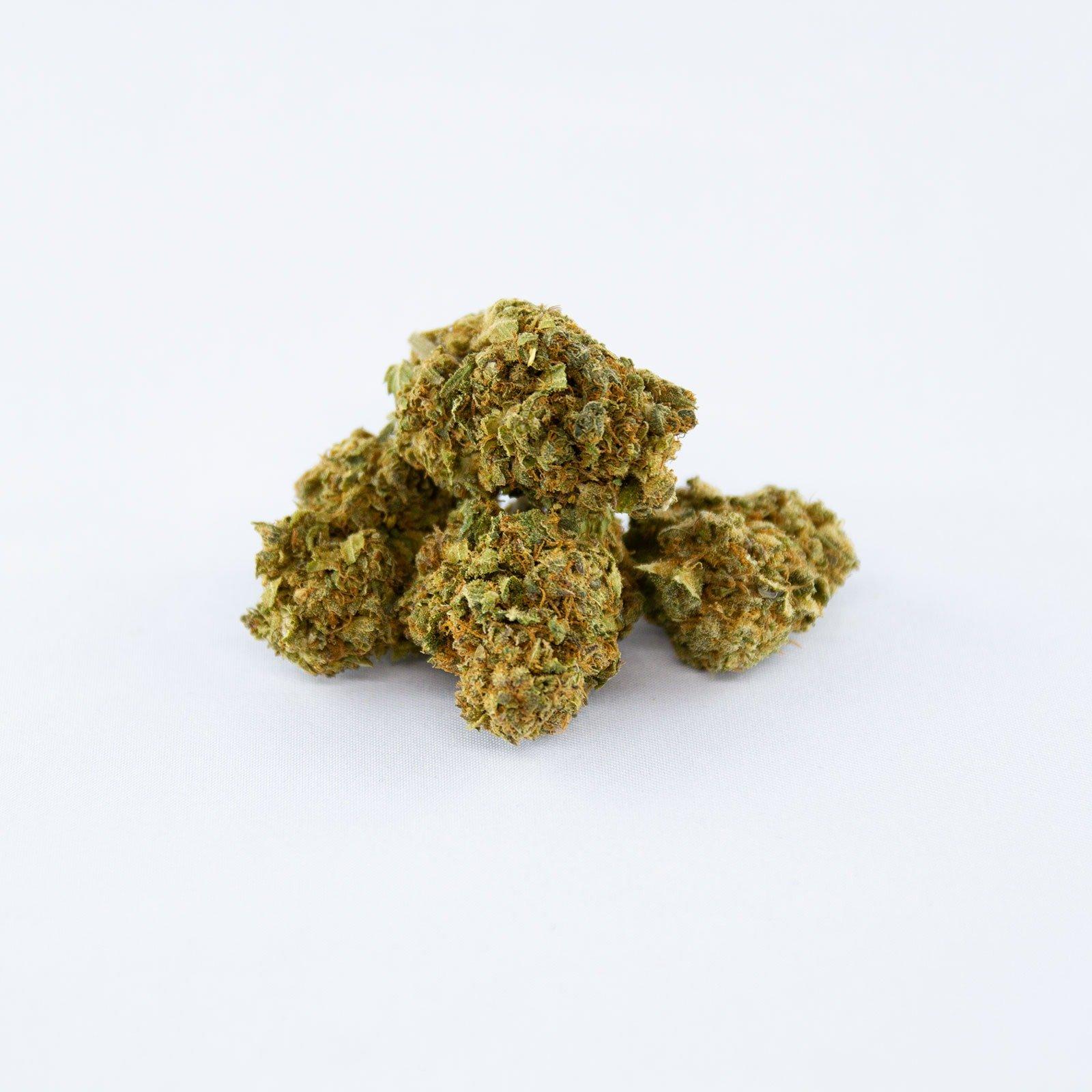 Image de variété INDOOR STRAWBERRY / FRAISE Fleurs de Cannabis CBD 100% légal